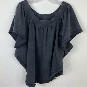 Free People Distressed Top E6